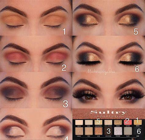 easy eye makeup tutorial  beginners step  step ideaseyebrow eyeshadow page