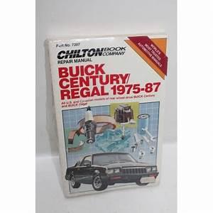 Garage En Anglais : manuel de r paration buick century regal de 1975 1987 en anglais vintage garage ~ Medecine-chirurgie-esthetiques.com Avis de Voitures