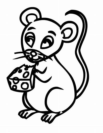Cheese Coloring Clipart Yogurt Drawing Pages Mice
