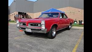 1966 Pontiac Gto Hardtop Coupe In Red Paint
