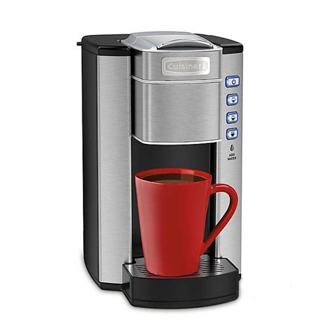 Having said that, we would not recommend you a $1,000 machine when the average industry cost is $150. Cuisinart® Compact Single Serve Coffee Maker | Bed Bath & Beyond