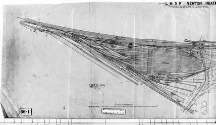 track plan  newton heath greater manchester