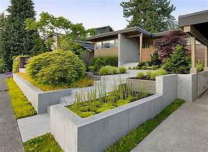 curb appeal 20 modest yet gorgeous front yards With idee amenagement jardin paysager 18 jardin urbain en facade plan idees creer des allees