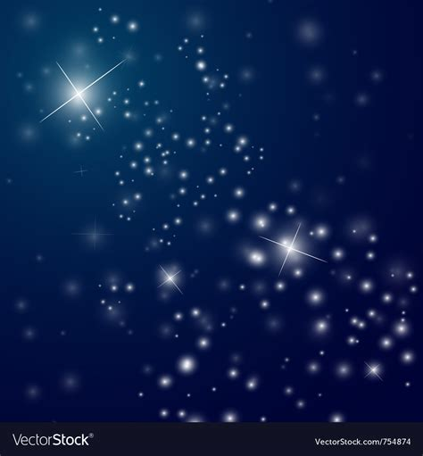 Starry Sky Image by Abstract Starry Sky Royalty Free Vector Image