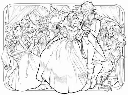 Labyrinth Ballroom Goblin Coloring Deviantart Adult Audreymolinatti