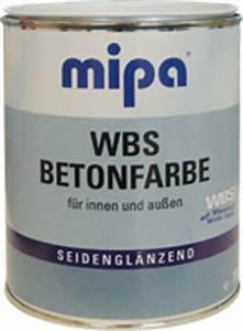 Betonfarbe Für Aussen : mipa wbs betonfarbe ~ Michelbontemps.com Haus und Dekorationen