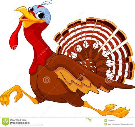 turkey running in a turkey trot template running cartoon turkey stock vector illustration of