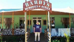 Hardy standing under new sign - Picture of Hardys Memories ...