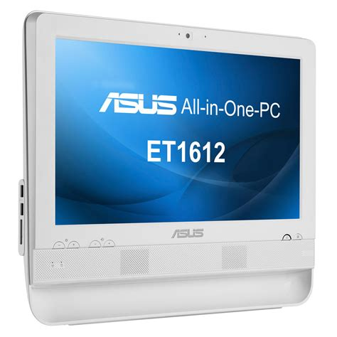 pc bureau tactile asus all in one pc et1612iuts w005c pc de bureau asus