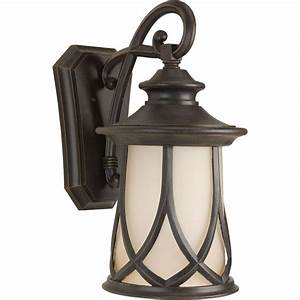 progress lighting resort collection 1 light aged copper With progress outdoor lighting lowest price