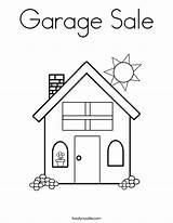 Coloring Garage Pages Worksheet Worksheets Address Teaching Built California Usa Farm sketch template