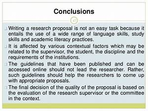 easy research proposal topics