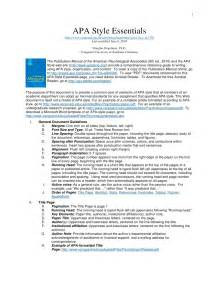 Article Review APA Style Format