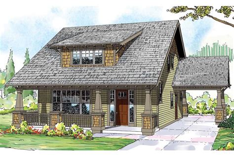 Bungalow House Plans  Blue River 30789  Associated Designs