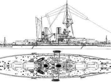 Корабль SMS Seydlitz (Battlecruiser) (1915) - чертежи ...