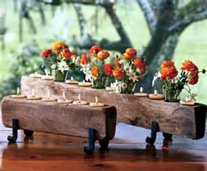 Kitchen Table Centerpiece Ideas by Rustic Autumn Table Decoration Wooden Box With Fruit And