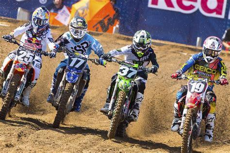 lucas pro oil motocross 2016 lucas oil pro motocross schedule announced racer x