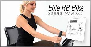 3g Cardio Recumbent Bike User U0026 39 S Manual Includes Great