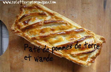 recette de cuisine avec pomme de terre pâté de pommes terre et viande recettes de cuisine avec