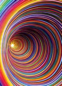 Swirly Rainbow Black Holes (page 3) - Pics about space