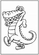 Alligator Coloring Pages Worksheets Teacher sketch template