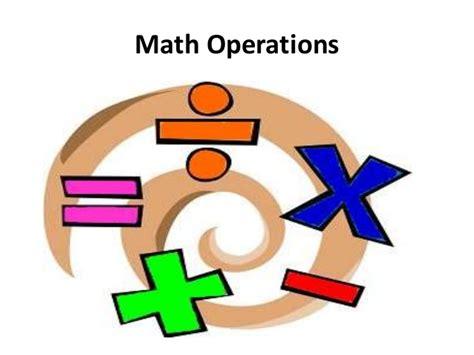 Math Operations