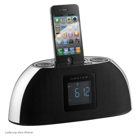 Iphone Dock Wecker by Ipod Iphone Ladestation Ukw Radio Wecker Aux