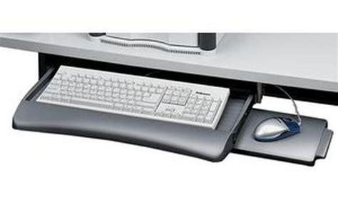 bureau avec tablette pour clavier fellowes tiroir pour clavier avec tablette souris fellowes