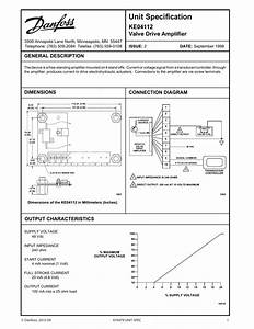 Danfoss Ke04112 Valve Drive Amplifier Installation Guide