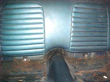 mustang metal rear seat divider installation