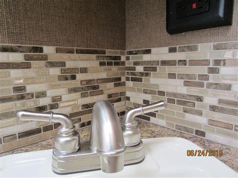Kitchen Backsplash Tiles Peel And Stick by Muretto Durango Peel And Stick Backsplash On A Budget