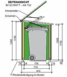 Mülltonnenverkleidung Selber Bauen : m lltonnenbox selber bauen m lltonnenverkleidung holz ~ Watch28wear.com Haus und Dekorationen