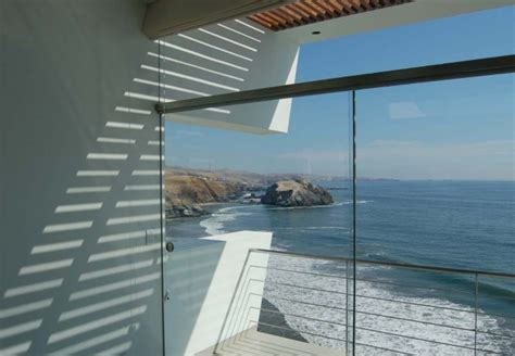 An Innovative House Carved Out Of A Cliff by Lefevre House An Imposing Abode Overlooking The