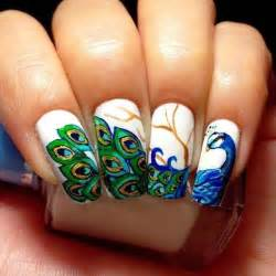 Beautiful nail art designs inspired by indian motifs