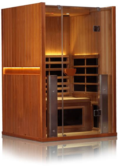 sanctuary   person cedar full spectrum infrared sauna