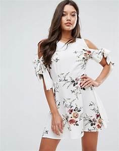 tendance mode 23 des plus belles robes courtes pour la With robe fleurie 2017