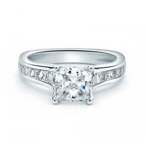 princess cut engagement rings forevermark four prong princess cut engagement ring in platinum engagement rings