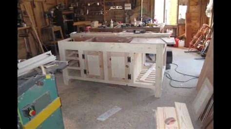 How To Make A Kitchen Island Unit  Youtube