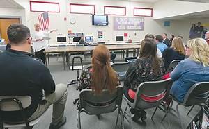 AdvancED presents 'preliminary report' to Boone Central ...