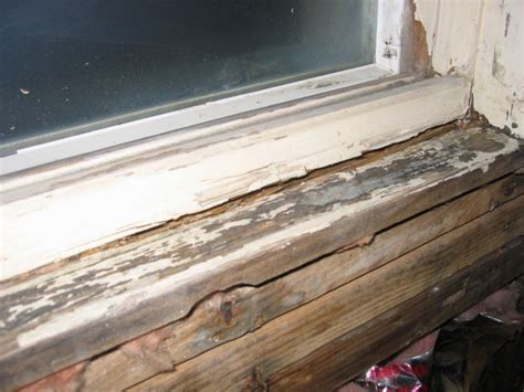 Window Sill Rotted
