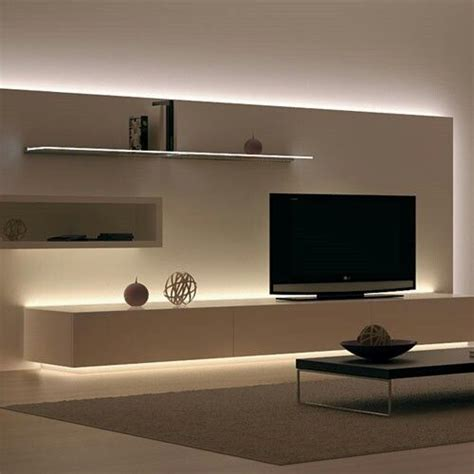 Fernsehwand Mit Indirekter Beleuchtung by 25 Best Ideas About Tv Wall Design On Tv