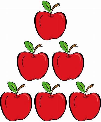 Apples Clipart Cartoon Clip Three Library