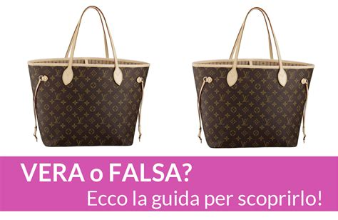 come distinguere una borsa louis vuitton vera da quella falsa