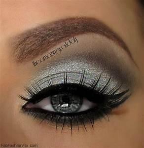 How to do silver smokey eye makeup tutorial? - Fab Fashion Fix