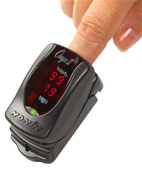 Onyx II Model 9560 Wireless Fingertip Pulse Oximeter from