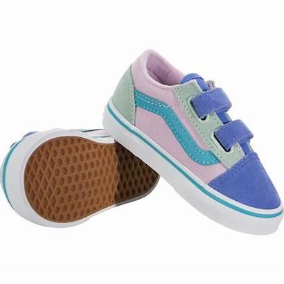 Vans Velcro Skool Block Toddler Sneakerhead