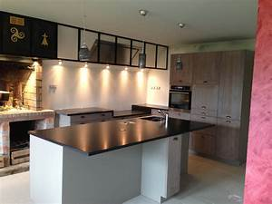 cuisine authentique plan de travail granit a vannes With plan de travail central cuisine