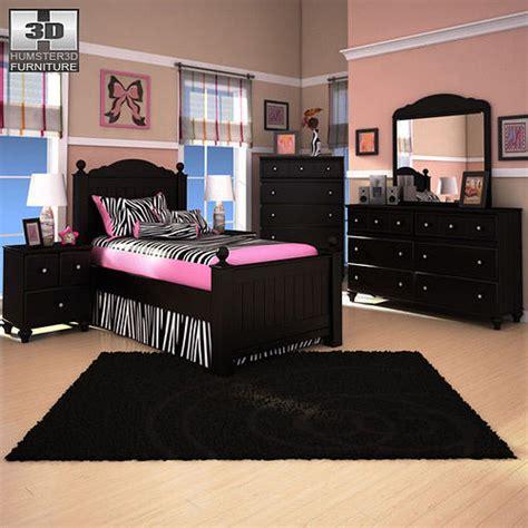 Jaidyn Bookcase Bedroom Set by 3d Model Jaidyn Poster Bedroom Set Cgtrader