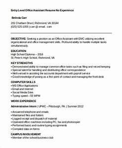 Sample Resumes For Entry Level 15 Best Work Resume Templates Pdf Doc Free Premium