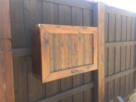 gorgeous teak wood flip top single door outdoor tv cabinet
